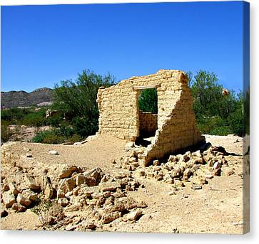 Terlingua Texas Ghost Town Canvas Print