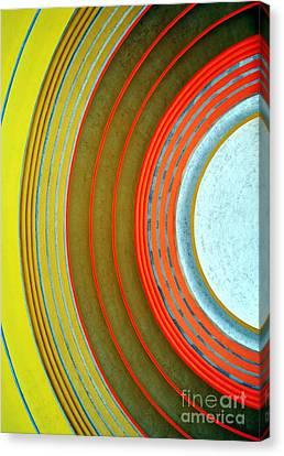 Terminal Art Canvas Print by Mel Steinhauer