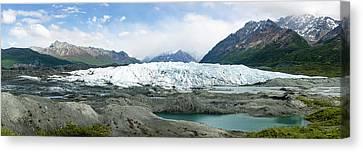 Matanuska Canvas Print - Terminus Of Matanuska Glacier by Panoramic Images