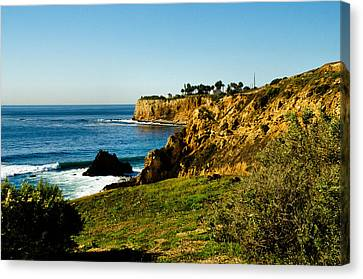 Canvas Print featuring the photograph Terr Beach by Joseph Hollingsworth