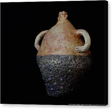 Ceramic Glazes Canvas Print - Terra Ignacio by Mark M  Mellon