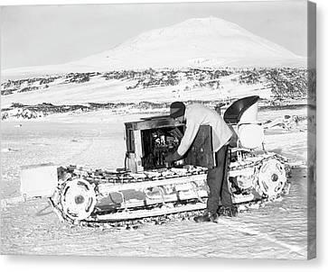 Terra Nova Antarctic Motor Sledge Canvas Print