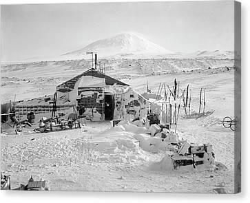 Terra Nova Antarctic Winter Hut Canvas Print