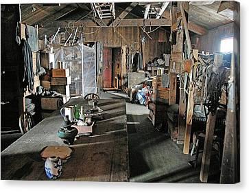 Terra Nova Hut Interior Canvas Print