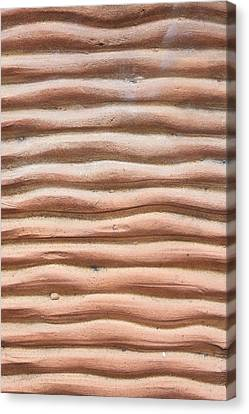 Terracotta Background Canvas Print