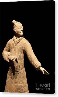 Terracotta Warrior In Xi'an China Canvas Print