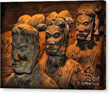 Terracotta Warriors - The Emperor's Army Canvas Print by Lee Dos Santos