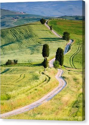Terrapille Farm Canvas Print by Michael Blanchette