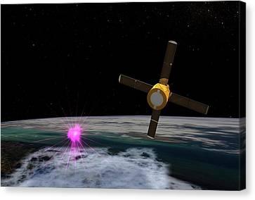 Terrestrial Gamma-ray Flash Canvas Print by Nasa