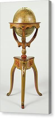 Terrestrial Globe Globe Terrestre Globe Designed Canvas Print by Litz Collection