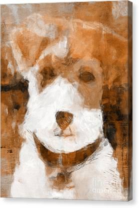 Terrier II Canvas Print