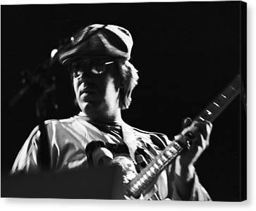Terry Kath At The Cow Palace In 1976 Canvas Print