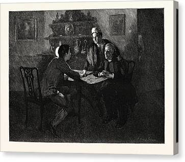 Tess Of The Durbervilles Is She Of A Family Such Canvas Print by English School