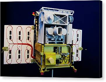 Component Canvas Print - Tet-1 Mini-satellite by Mark Williamson