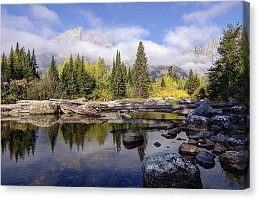 Teton Autumn Canvas Print