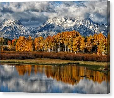 Teton Autumn Canvas Print