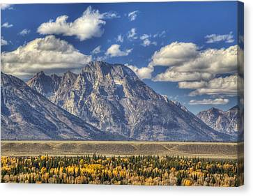 Teton Glory Canvas Print by Mark Kiver