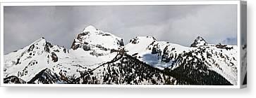 Tetons Panorama Canvas Print
