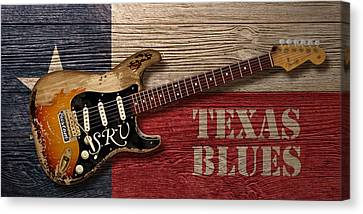 Texas Blues Canvas Print by WB Johnston