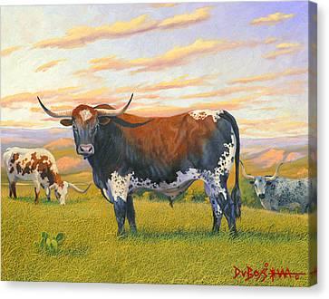 Texas Bred Canvas Print