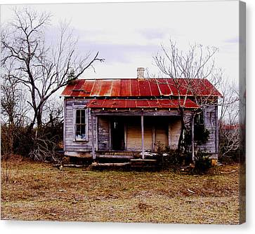 Texas Duplex Canvas Print by James Granberry