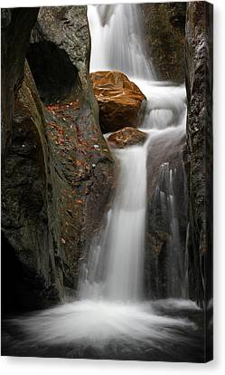 Texas Falls Of Vermont Canvas Print by Juergen Roth