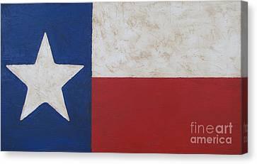 Texas Flag Canvas Print