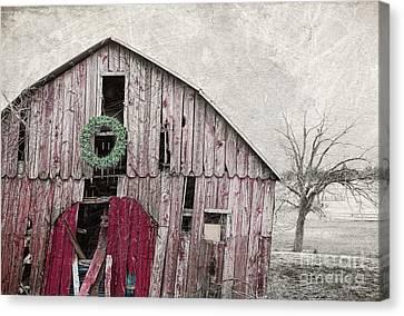 Texas Manger Canvas Print by Elena Nosyreva