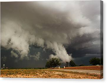Canvas Print featuring the photograph Texas Monster by Ryan Crouse