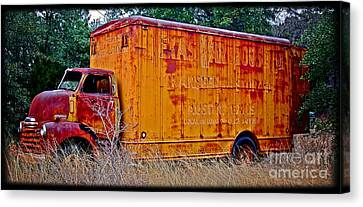 Texas Moving Co. - No.0651d Canvas Print by Joe Finney