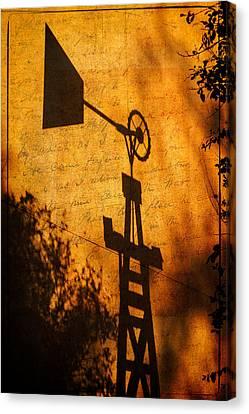 Texas Shadows Canvas Print