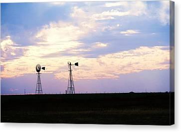 Texas Sky Canvas Print