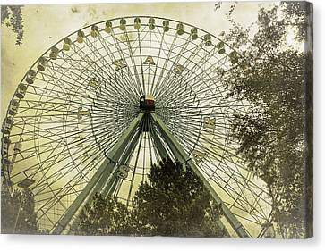 Texas Star Old Fashioned Fun Canvas Print by Joan Carroll