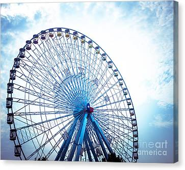 Amusements Canvas Print - Texas Star by Sonja Quintero