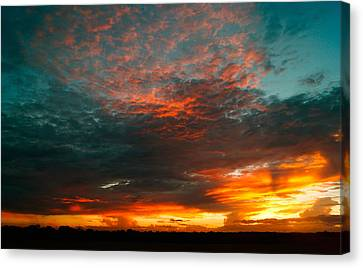 Texas Sunset Canvas Print