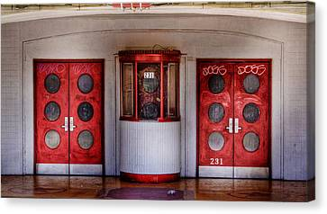 Texas Theater Canvas Print by David and Carol Kelly