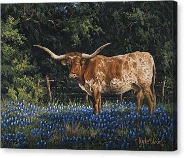 Texas Traditions Canvas Print by Kyle Wood