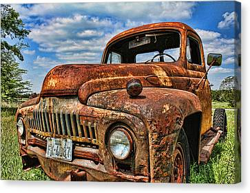 Canvas Print featuring the photograph Texas Truck by Daniel Sheldon