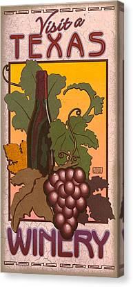 Texas Winery Canvas Print