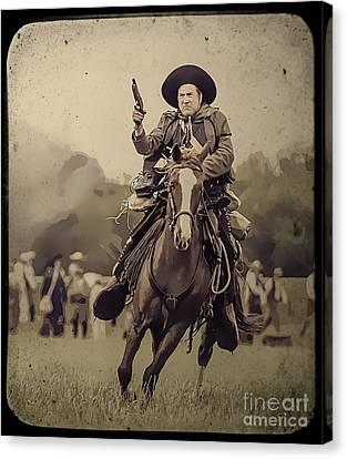 Texican Cavalry Canvas Print