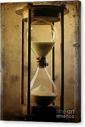 Textured Hourglass Canvas Print by Bernard Jaubert
