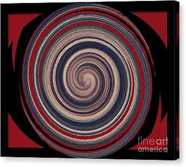 Canvas Print featuring the digital art Textured Matt Finish by Catherine Lott