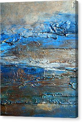 Textured Original Abstract Dune Canvas Print