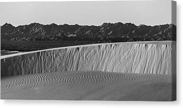 Textures Of Dune Canvas Print by Peter Tellone