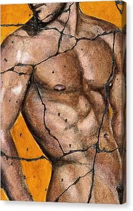 Thaddeus - Study No. 1 Canvas Print by Steve Bogdanoff