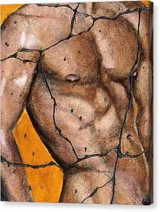 Thaddeus - Study No. 2 Canvas Print by Steve Bogdanoff