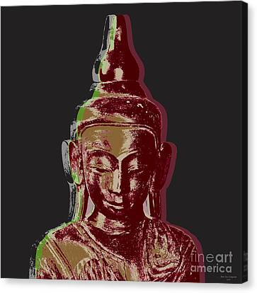 Thai Buddha #3 Canvas Print