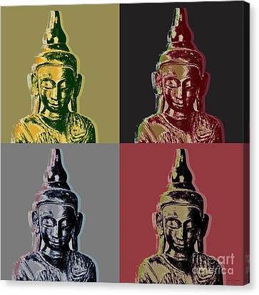 Thai Buddha Canvas Print