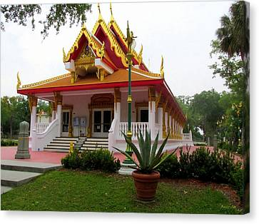 Thai Buddhist Temple IIi Canvas Print