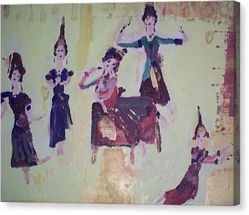 Thai Dance Canvas Print by Judith Desrosiers